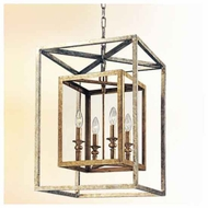 Troy F9994 Morgan Small Wrought Iron Foyer Light