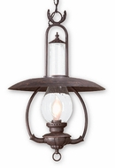 Troy FCD9013OBZ La Grange Traditional Outdoor Pendant Light - 16 inches wide