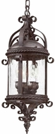 Troy FCD9124OBZ Pamplona Traditional Outdoor Hanging Pendant Light