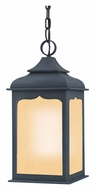 Troy FF2018ci Henry Street Fluorescent Colonial Iron 23 Inch Tall Outdoor Drop Lighting