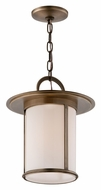 Troy FF3247 Wright Fluorescent Transitional 14 Inch Tall Drop Ceiling Light Fixture - Brass
