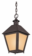 Troy FF3297 Sagamore Fluorescenet 20 Inch Tall Rust Outdoor Drop Lighting