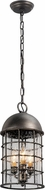 Troy FL4437 Charlemagne Hand Worked Iron LED Outdoor Mini Drop Lighting