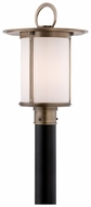 Troy P3245 Wright Outdoor Antique Brass 16 Inch Tall Post Light Fixture