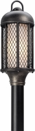 Troy P4485 Signal Hill Hand Worked Iron Exterior Lighting Post Light