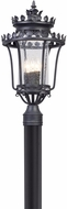 Troy P5135 Greystone Forged Iron Exterior Post Light Fixture