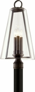 Troy P7405 Adamson Modern French Iron Outdoor 12  Lamp Post Light