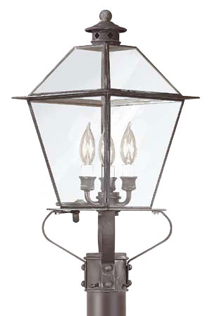 Troy P8955ci Montgomery Outdoor Lighting Post 10 25 Inches Wide