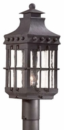 Troy PCD8972NB Dover Traditional Outdoor Lighting Post