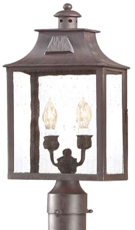 Troy Pcd9003obz Newton Traditional Outdoor Lighting Post 8 75 Inches Wide