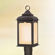 Troy PF2015CI Henry Street Fluorescent 22 Inch Tall Outdoor Lamp Post Light