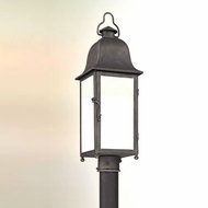 Troy PF3215 Larchmont Fluorescent Outdoor 25 Inch Tall Pewter Post Lighting