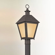 Troy PF3295 Sagamore Fluorescent Rust Finish 22 Inch Tall Outdoor Lamp Post Light