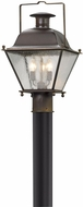 Troy PL5075NR Wellesley Natural Rust LED Outdoor Lamp Post Light