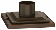Troy PM4941 8 Inch Wide Cast Aluminum Square Pier Mount