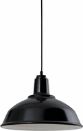 Troy RLM 5DRH16MBK-BC Bryson Gloss Black Exterior 16  Lighting Pendant