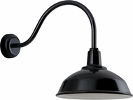 Troy RLM RH16MBK3LL23 Bryson Gloss Black Exterior 16  Sconce Lighting