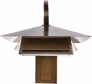 Ultralights ACL-0698-MB-OA-02 Profiles Contemporary Medieval Bronze LED Exterior Wall Lighting