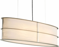 Ultralights ACL-09179-SP-WS-03 Ellipse Contemporary Satin Pewter Kitchen Island Lighting