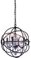 Urban Classic 1130D17DB-RC Geneva Dark Bronze 17  Pendant Light