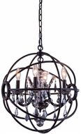 Urban Classic 1130D17DB-SS-RC Geneva Dark Bronze 17  Lighting Pendant