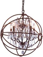 Urban Classic 1130D17RI-RC Geneva Rustic Intent 17  Pendant Lighting Fixture
