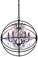 Urban Classic 1130D25DB-RC Geneva Dark Bronze 25  Pendant Light