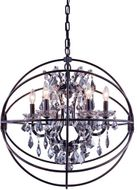 Urban Classic 1130D25DB-SS-RC Geneva Dark Bronze 25  Lighting Pendant