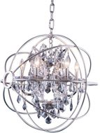 Urban Classic 1130D25PN-SS-RC Geneva Polished Nickel 25  Hanging Lamp