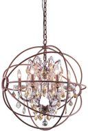 Urban Classic 1130D25RI-GT-RC Geneva Rustic Intent 25  Hanging Light