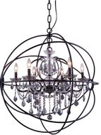 Urban Classic 1130D32DB-SS-RC Geneva Dark Bronze 32  Hanging Pendant Light