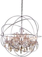 Urban Classic 1130G43PN-GT-RC Geneva Polished Nickel 43.5  Drop Lighting Fixture