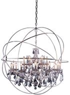 Urban Classic 1130G43PN-SS-RC Geneva Polished Nickel 43.5  Pendant Lighting