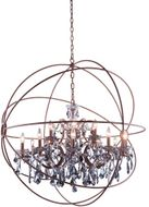 Urban Classic 1130G43RI-SS-RC Geneva Rustic Intent 43.5  Lighting Pendant