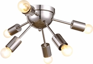 Urban Classic 1134F21PN Cork Contemporary Polished Nickel Ceiling Light