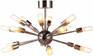 Urban Classic 1135D30PN Cork Modern Polished Nickel Ceiling Light Fixture