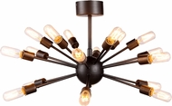 Urban Classic 1135D30VS Cork Contemporary Vintage Steel Ceiling Lighting Fixture