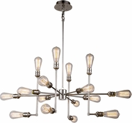Urban Classic 1139D43PN Ophelia Contemporary Polished Nickel Lighting Wall Sconce