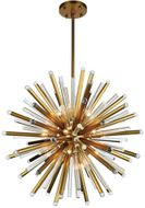 Urban Classic 1141G36BB Maxwell Burnished Brass 36  Lighting Pendant