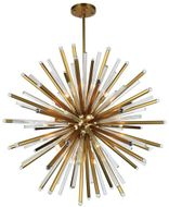 Urban Classic 1141G48BB Maxwell Burnished Brass 48  Pendant Light Fixture