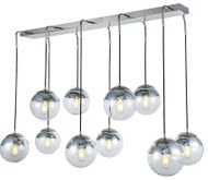 Urban Classic 1142G52PN Beckett Modern Polished Nickel Multi Drop Ceiling Lighting