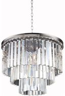 Urban Classic 1201D20PN-RC Sydney Polished Nickel 20  Drop Lighting Fixture