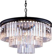 Urban Classic 1201D26MB-RC Sydney Matte Black 26  Lighting Pendant