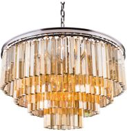 Urban Classic 1201D32PN-GT-RC Sydney Polished Nickel 32  Hanging Pendant Light