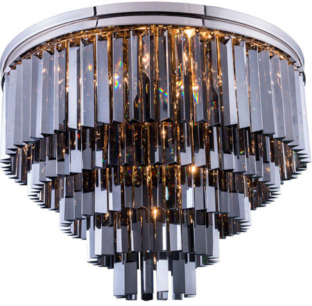 Urban Classic 1201f32pn Ss Rc Sydney Polished Nickel 32 Quot Overhead Lighting Urb 1201f32pn Ss Rc