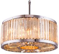 Urban Classic 1203D28PN-GT-RC Chelsea Polished Nickel 28  Drum Lighting Pendant