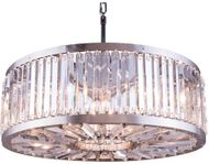 Urban Classic 1203D35PN-RC Chelsea Polished Nickel 35.5  Drum Hanging Pendant Light