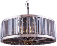 Urban Classic 1203D35PN-SS-RC Chelsea Polished Nickel 35.5  Drum Pendant Hanging Light