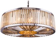 Urban Classic 1203G43PN-GT-RC Chelsea Polished Nickel Drum Ceiling Light Pendant