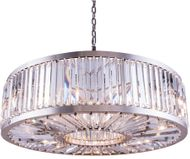 Urban Classic 1203G43PN-RC Chelsea Polished Nickel Drum Ceiling Pendant Light